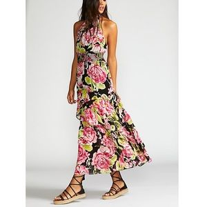 Free People In Full Bloom Maxi Dress NWT S…